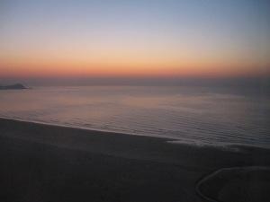 Qingdao sunset