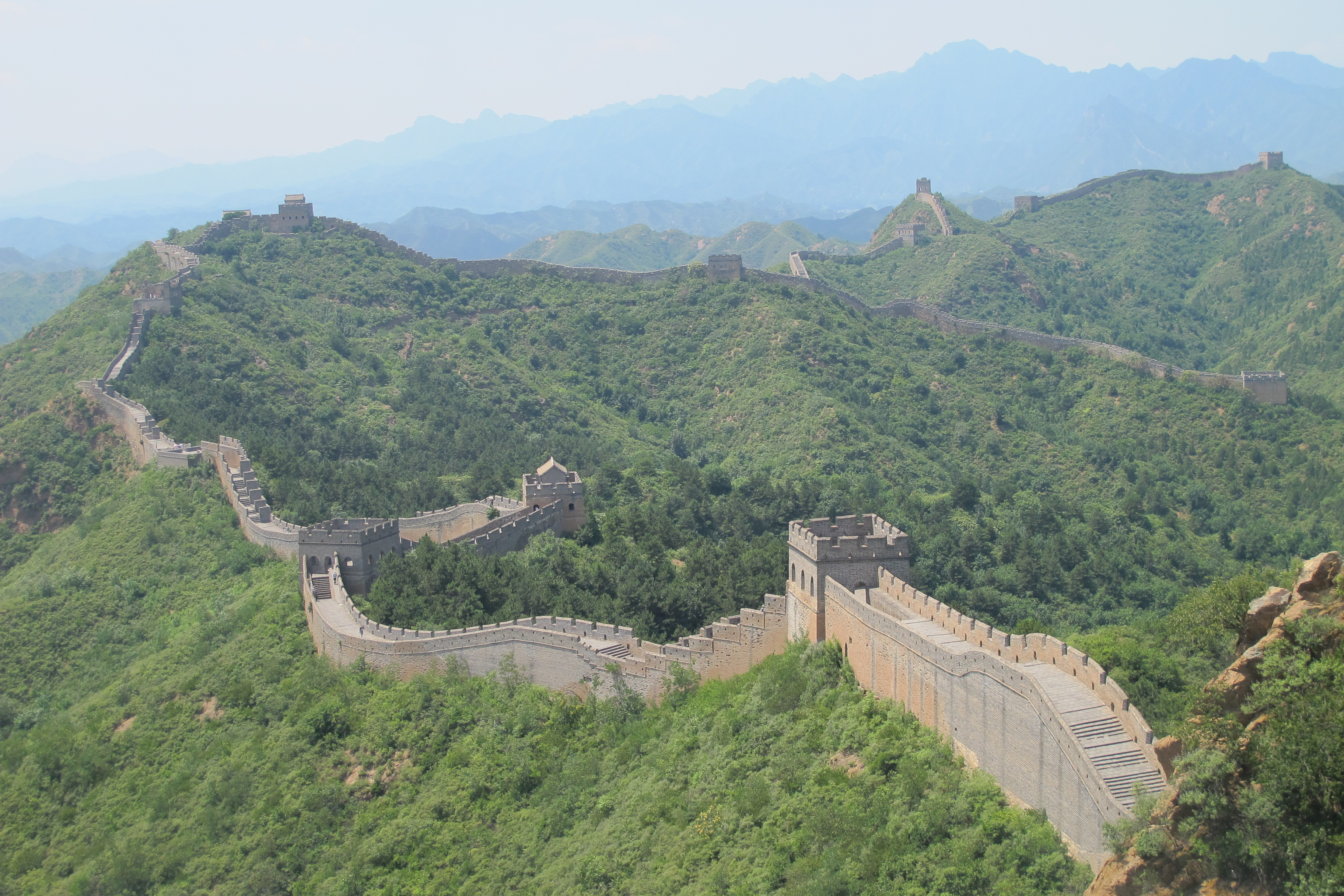 Great Wall – Jinshanling – Chengde – Hebei Province PRC – July